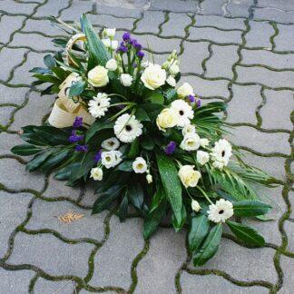 Palmy i wiązanki pogrzebowe