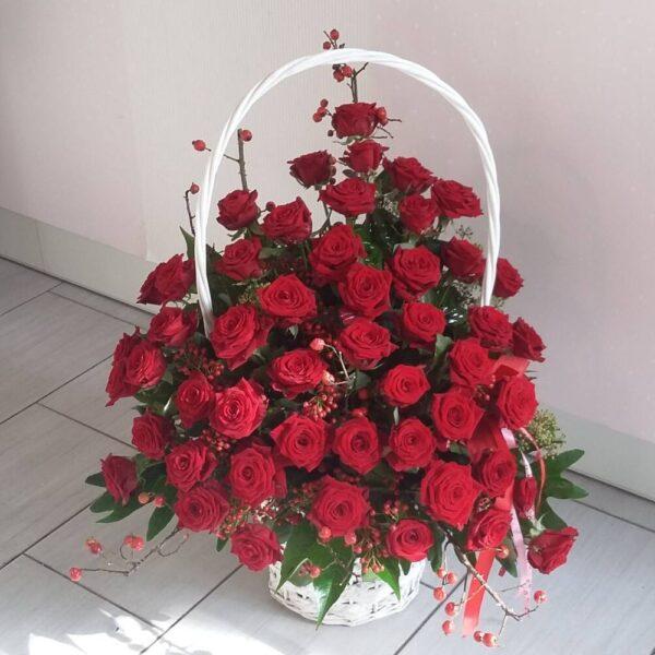 EKO kreator kosza róż ciętych (20-50 róż) – R 4