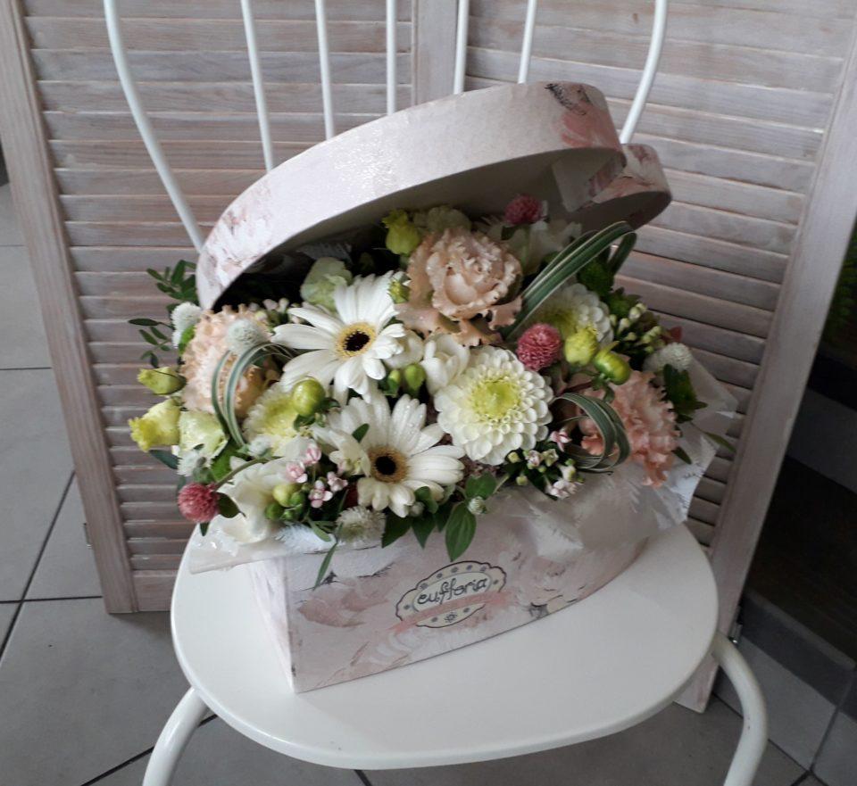6327185384c7e3 Flower box – Poczta Bielsko – kwiaty w pudełku – FB 67 – Kwiaciarnia ...