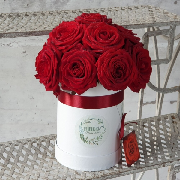 EKO Flower box  (15-17 róż ciętych) – FB 20
